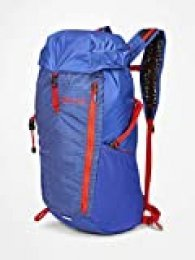 Marmot Kompressor Plus Ultraligera, Daypack, Mochila Deportiva Y De Ocio, Unisex Adulto, Royal Night/Victory Red, 20 L