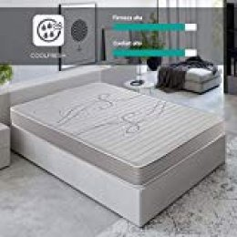 ROYAL SLEEP Colchón viscoelástico 105x190 de máxima Calidad, Confort y firmeza Alta, Altura 14cm. Colchones Xfresh
