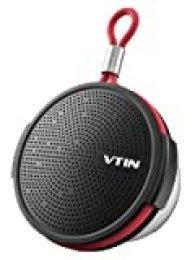 Vtin Q1 Altavoz Bluetooth de Ducha 8W, Altavoz Exterior Impermeable IPX5, Mini Altavoz Portátil Bluetooth, 12H de Reproducción, Micrófono Incorporado, para Ducha, Playa, Piscina Ciclismo, Exterior
