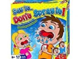 HTI Juego de Mesa Say It Don't Spray It, The Hilarious Mouthpiece Mouthguard, edición Familiar