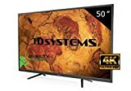 "TD Systems K50DLY8US - Televisor LED de 50"" (Ultra HD 4K Smart), color negro"