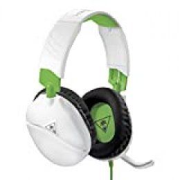Turtle Beach Recon 70X Blanco Auriculares Gaming - Xbox One, PS4, Nintendo Switch y PC
