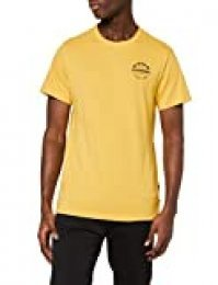 G-STAR RAW Originals Logo Straight Camiseta, Amarillo (Lt Lemon 336-188), M para Hombre