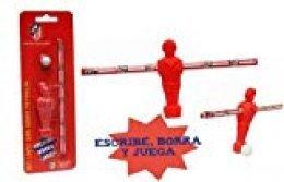 Atletico de Madrid - Set futbolín (Goma Pelota+Goma Jugador+lápiz) (CYP Imports GS-12-ATL)