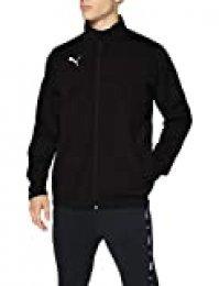 Puma LIGA Sideline Poly Core, Chaqueta de Entrenamiento, Hombre, Negro (black/ white), XL