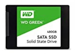 "Western Digital WD Green WDS480G2G0A - Internal SSD 2.5"" SATA, Verde, 480 GB"