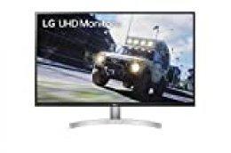 LG 32UN500-W - Monitor UHD polivalente, Panel VA: 3840 x 2160p, 16:9, 350cd/m², 3000:1, DCI-P3 >90%, 60Hz, 4ms, diag. 80 cm, entradas HDMI x2, DP x1, Altavoces 5W, Marcos ultrafinos