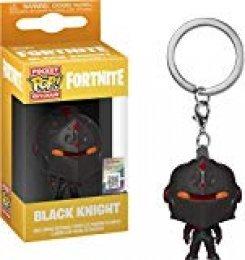 Funko- Pocket Pop Fortnite Llavero de Vinilo con Anilla Black Knight, Multicolor (36953)
