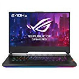"ASUS ROG Strix SCAR III G531GW-AZ271T - Portátil Gaming de 15,6"" FullHD (Intel Core i7-9750H, 16GB RAM, 1TB SSD, GeForce RTX2070-8GB, Windows 10) Negro - Teclado QWERTY Español"