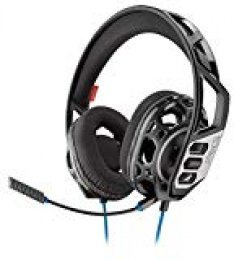 Plantronics RIG 300 HS Binaural Diadema Negro - Auriculares con micrófono (Consola de Videojuegos + PC/Videojuegos, Binaural, Diadema, Negro, Alámbrico, 1,3 m)