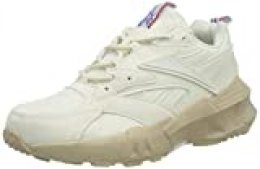 Reebok AZTREK Double Mix, Gymnastics Shoe Womens, Chalk/Panton E/White, 37 EU