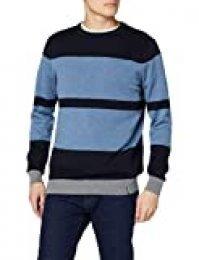 Springfield Frq Stripes Kodak Gg12 Jersey, Azul (Blue 11), Small (Tamaño del Fabricante: S) para Hombre