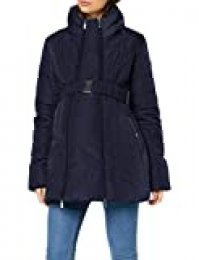 Noppies Jacket 2-Way Sjors Chaqueta Premama, Azul (Night Sky P277), 38 (Talla del Fabricante: Small) para Mujer