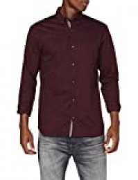 Jack & Jones Jprfocus Solid Shirt L/S Camisa para Hombre