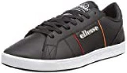 ellesse Ls-80, Zapatillas para Hombre, Multicolor (Black/Red/Orange Black/Red/Org), 39.5 EU