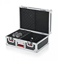 Gator G-Tour M15ATA Madera Vuelo funda con acolchado de espuma 15micrófono gotas