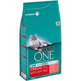 Purina ONE Bifensis Pienso para gatos Esterilizados Salmón y Trigo 1,5 Kg