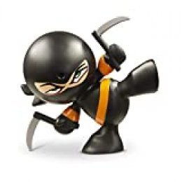 Fart Ninjas Kung PI YEW (Black/Orange) Juguete, Color Negro y Naranja, 8.9-Centimetres (Funrise International 70503)