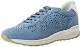 Geox D AIRELL B, Zapatillas para Mujer, Azul (Lt Blue C4003), 38 EU