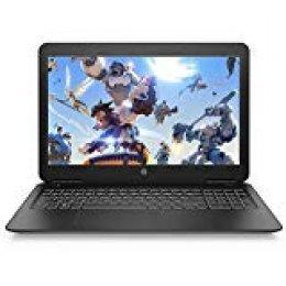 "HP Pavilion 15-bc400ns - Ordenador Portátil 15.6"" FullHD (Intel Core i5-8250U, 8GB RAM, 1TB HDD, Nvidia GeForce GTX1050-2GB, Sin sistema operativo) Color Negro - Teclado QWERTY Español"