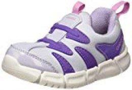 Geox B FLEXYPER Girl C, Zapatillas para Bebés, Purple (Soft Sky C4020), 24 EU