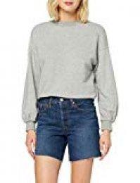 Levi's 501 Short Long Pantalones Cortos para Mujer