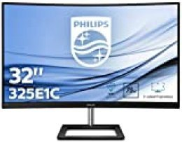 "Philips 325E1C/00 Monitor 31.5"" Curvo Quad HD (2560 x 1440 Pixeles, 4 ms, FreeSync/AdptiveSync, FlickerFree, HDMI, Displayport)"