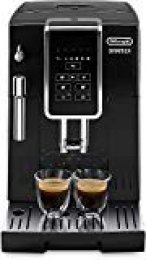 De'longhi Dinamica Ecam350.15.B - Cafetera superautomática, 1450w, panel control intuitivo táctil lcd, dispositivo de cappuccino, negro