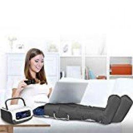 GridinLux - Presoterapia con mando. Accesorios brazo, piernas, abdomen. Uso fácil. Uso doméstico. Con mando a distancia