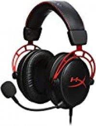 HyperX Cloud Alpha Pro, Cascos de Gaming con Cable Trenzado Extraíble, Compatibles con PS4, Xbox One y Plataformas de 3.5 mm, Alámbrico, Negro