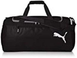 Puma Fundamentals Sports Bag M Bag, Unisex Adulto, Puma Black, OSFA