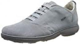 Geox U Nebula B, Zapatillas de Deporte para Hombre, Gris (Lt Jeans C4051), 39 EU