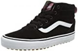 Vans Ward Hi MTE, Zapatillas Altas para Mujer, Negro ((Pop Color) Black/True White USM), 36 EU