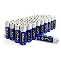Eono Essentials - Piles alcalines AA (paquet de 36)