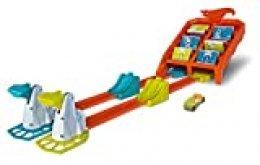 Mattel Hot Wheels Campeón de choques, pistas coches de juguetes niños +4 años, multicolor GBF89