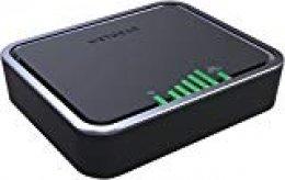 Netgear LB2120-100PES - Módem de Banda Ancha móvil 4G LTE (2 Puertos WAN Gigabit Ethernet, conexión Pass-Through, 150 Mbps de Descarga, 50 Mbps de Subida)
