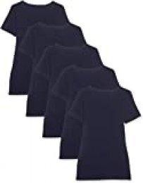 Maglev Essentials Camiseta con Cuello Redondo Mujer, Pack de 3 y 5