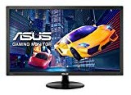"Asus VP228HE - Monitor LCD de 21.5"" para PC (1920 x 1080, Full HD, 1 ms, HDMI, 200 CD/m²) Color Negro"