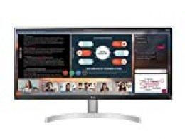 LG 29WN650-W - Monitor UltraWide Plano (Panel IPS: 2560x1080, 21:9, 400nit, 1000:1, sRGB>99%), Diagonal 73 cm, Entrada: HDMIx2, DPx1, AMD FreeSync, Altavoces 2 x 7 W