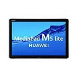 "Huawei MediaPad M5 Lite 10 - Tablet de 10.1"" Full HD (Wifi, RAM de 3 GB, ROM de 32 GB, Android 8.0, EMUI 8.0, Procesador Octacore 2.4 GHz) Color Gris"