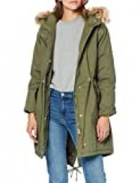 New Look Monica Cotton Parka Chaqueta para Mujer