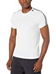 Helly Hansen HH LIFA T-Shirt Camiseta Técnica De Protección Solar Manga Corta, Hombre, White, S