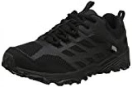 Merrell M-moab Fst Low Waterproof, Zapatillas de Senderismo Unisex Niños, Negro (Black), 30 EU