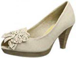 Marco Tozzi 2-2-29302-22, Zapatos de tacón con Punta Abierta para Mujer