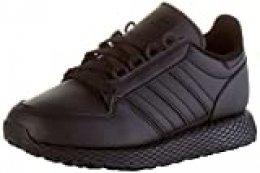 adidas Forest Grove J, Zapatillas de Gimnasio Unisex Adulto, Núcleo Negro/Núcleo Negro/Núcleo Negro, 39 1/3 EU