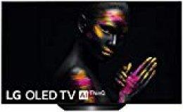 "LG OLED55B9ALEXA - Smart TV OLED 4K UHD de 139 cm (55"") con Inteligencia Artificial (procesador inteligente Alpha 7 Gen. 2, Deep Learning, 100% HDR y Dolby Vision/ATMOS), color negro"