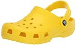 Crocs Classic U, Zuecos Unisex Adulto, Lemon, 43/44 EU