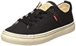 Levi's Global Vulca-Low_s, Zapatillas para Mujer, Negro (R Black 59), 37 EU