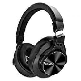 Auriculares Inalámbricos con Cancelación Activa de Ruido Bluetooth 5.0 - Srhythm NC75 Pro con Micrófono CVC8.0, Carga Rápida, Hi-Fi, 40+ horas de Reproducción - Baja Latencia