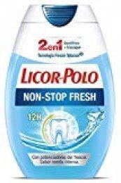 Licor del Polo - Pasta de dientes 2 en 1 Non Stop Fresh - 6 uds de 75ml
